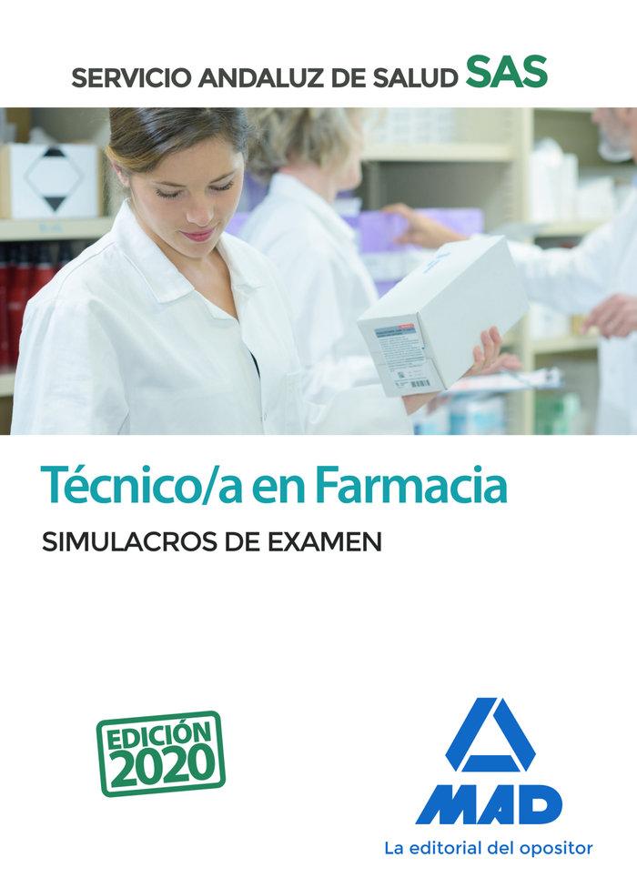 Tecnico farmacia servicio andaluz salud simulacro examen
