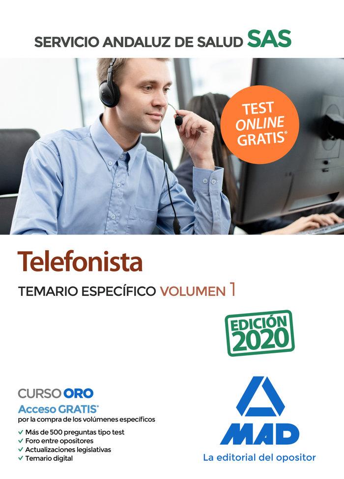 Telefonista sas temario especifico vol 1 2020