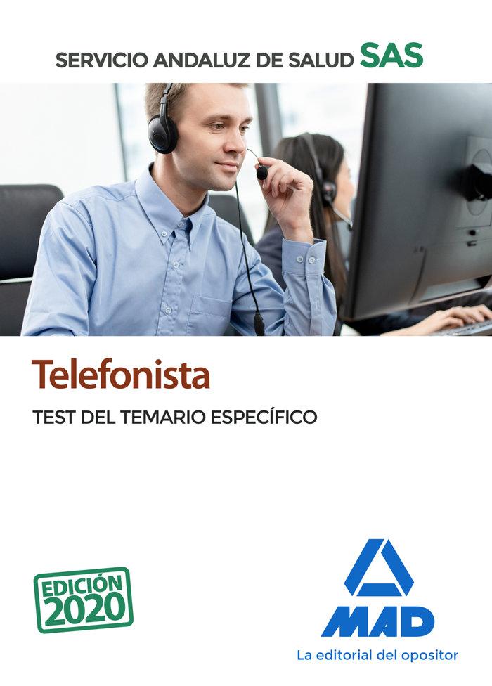 Telefonista del servicio andaluz de salud