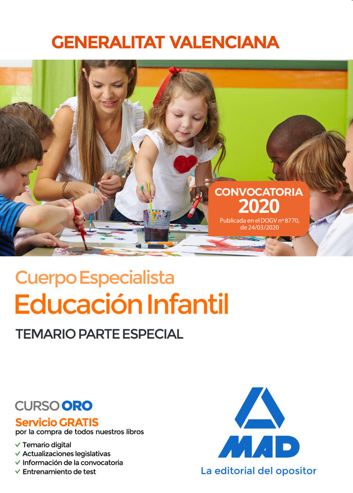 Cuerpo especialista educacion infantil administracion valen
