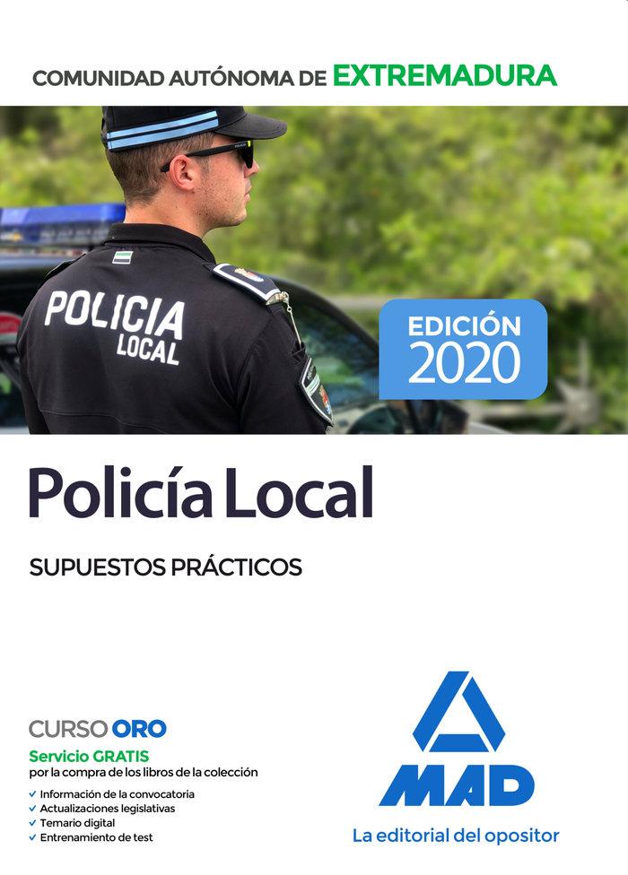 Policia local de extremadura supuestos practicos