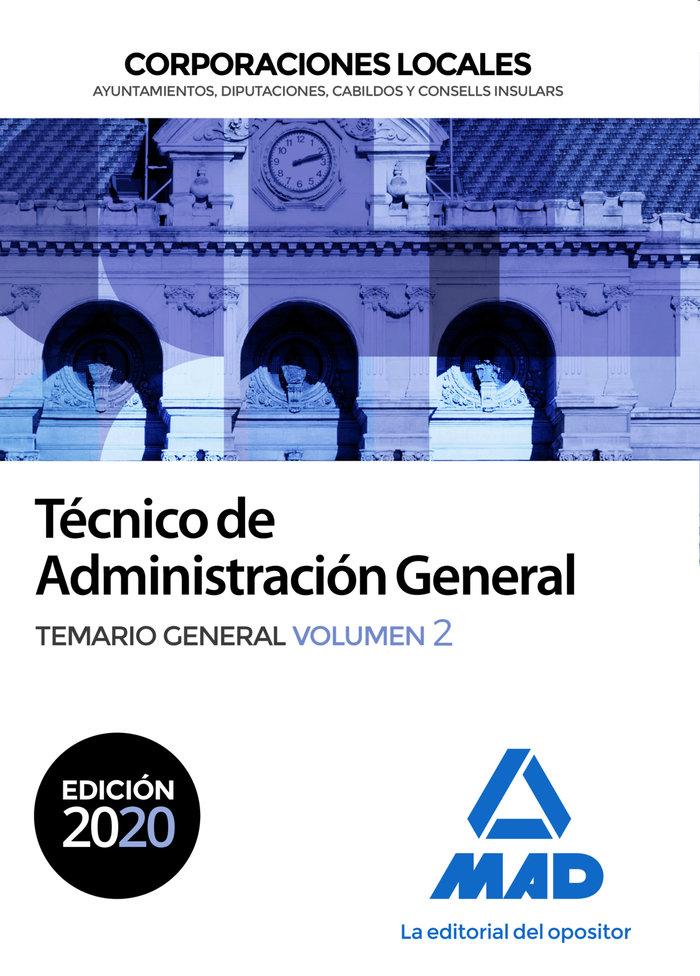 Tecnico administracion general corporacion local vol 2