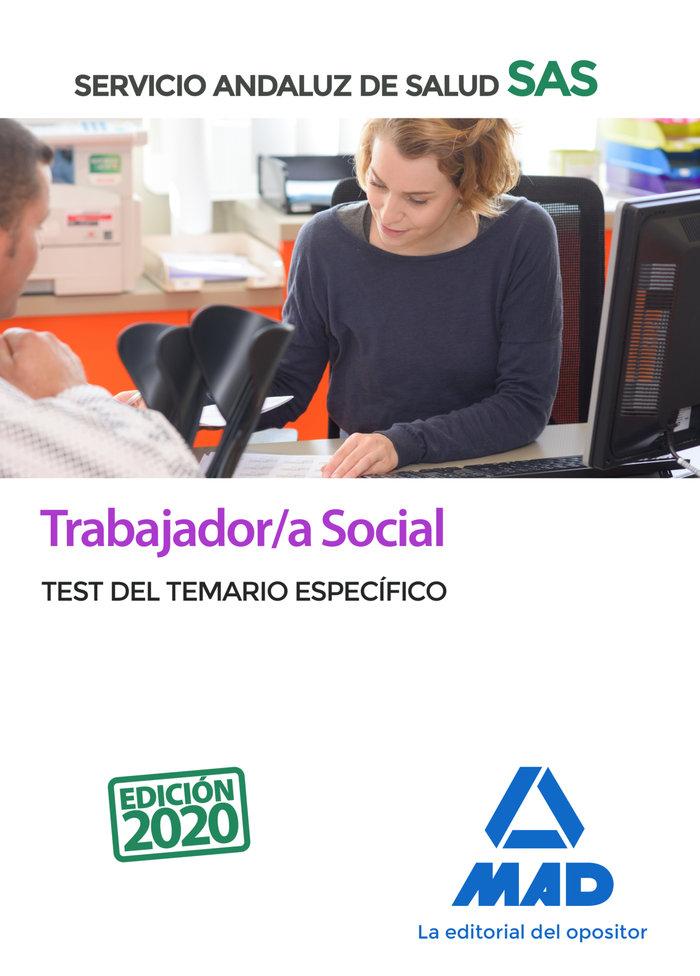 Trabajador/a social servicio andaluz salud