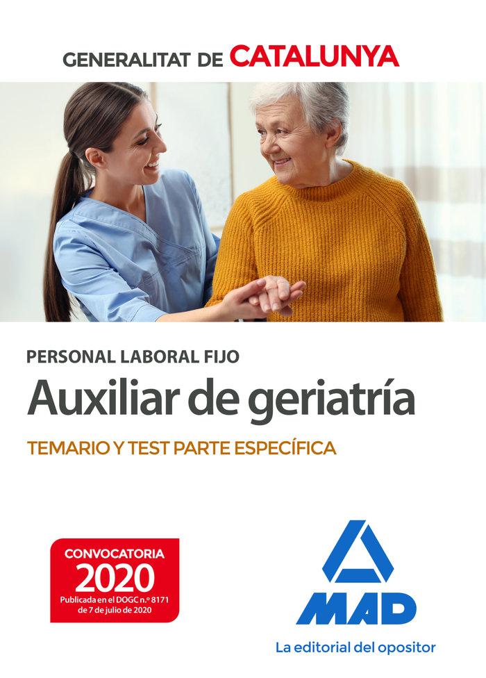 Personal laboral fijo auxiliar geriatria