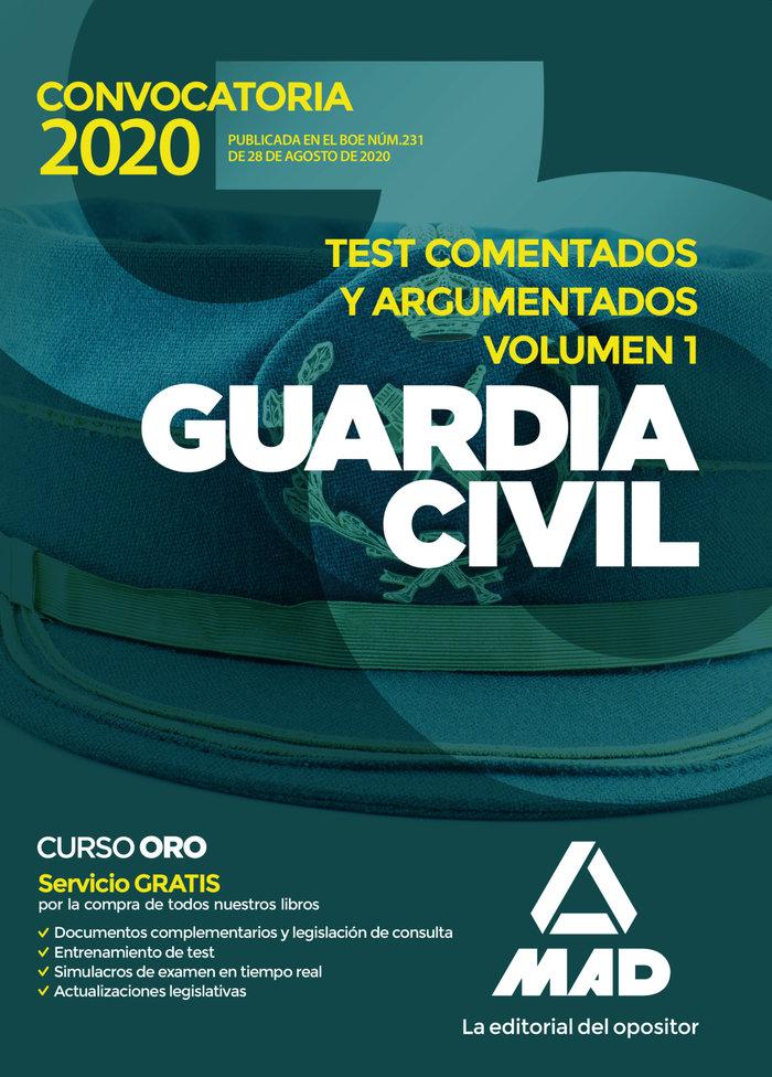 Guardia civil test comentados y argumenta