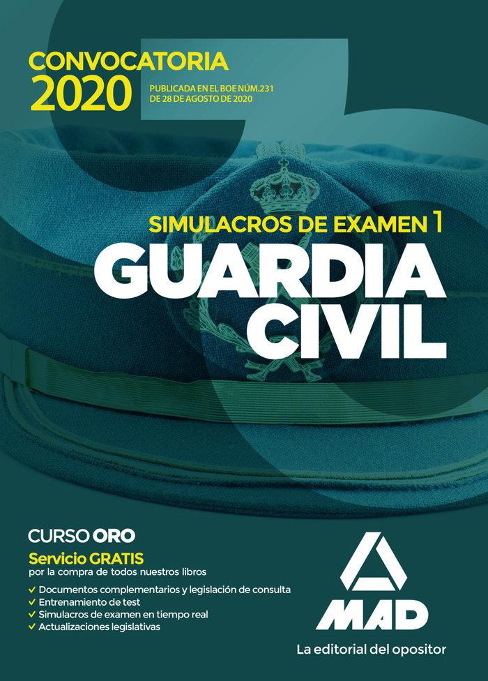 Guardia civil simulacros de examen 1 2020