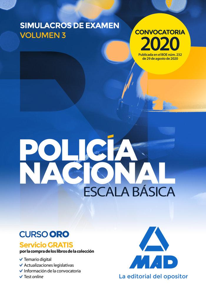 Policia nacional escala basica simulacros v.3 2020