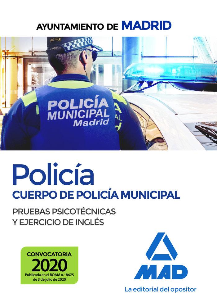 Policia cuerpo policia municipal ayuntamiento madrid psicot