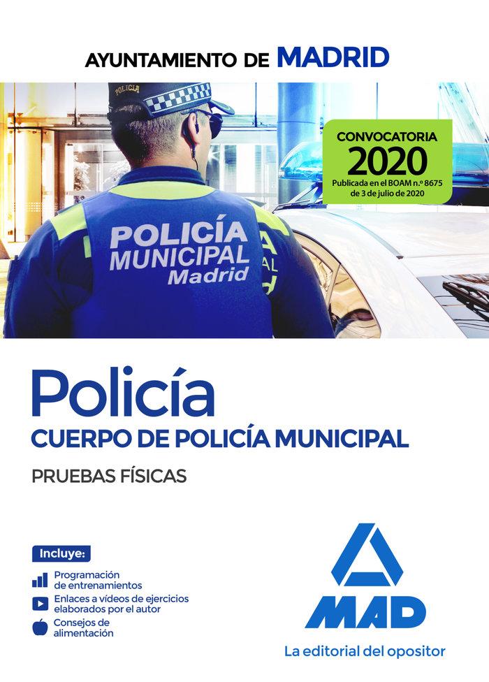 Policia cuerpo policia municipal ayuntamiento madrid fisica