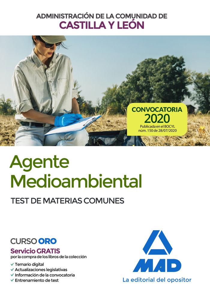 Agente medioambiental administracion castilla leon test