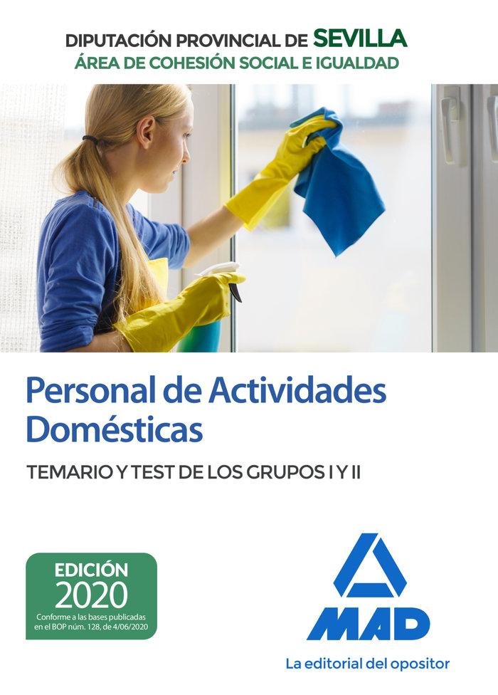 Personal actividades domesticas area cohesion social temari
