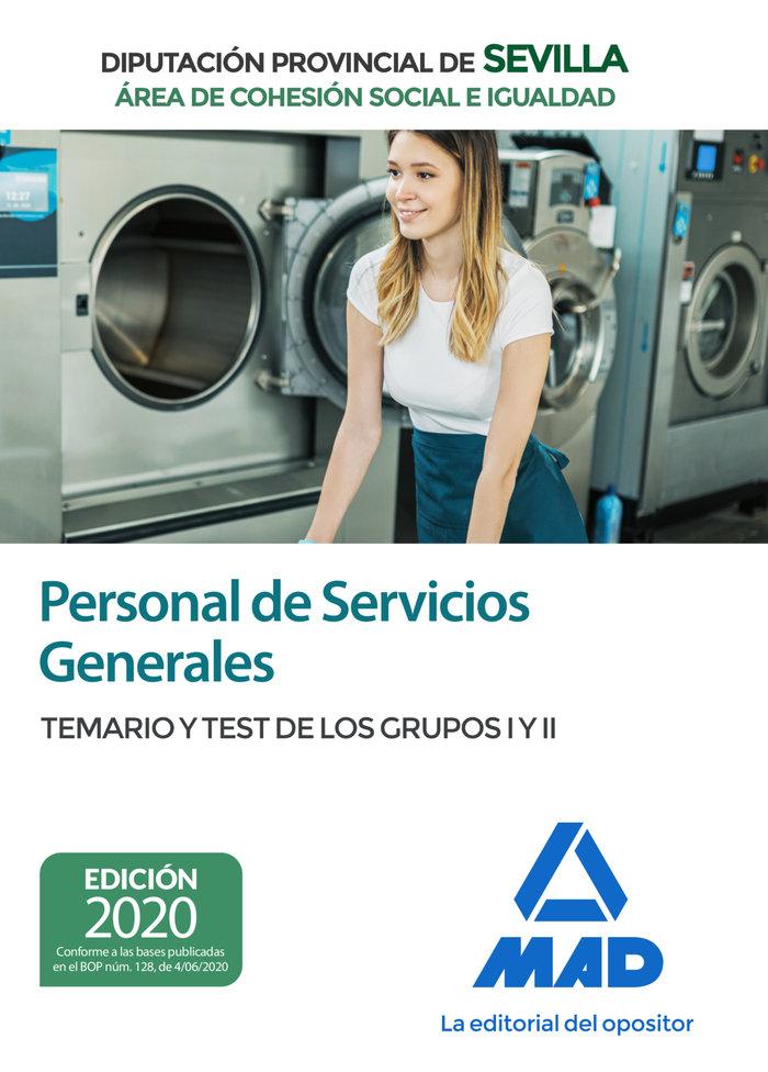 Personal servicios generales area de cohesion social temari