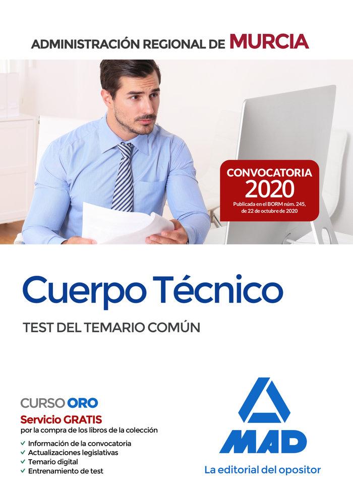 Cuerpo tecnico de la administracion publica regional de murc