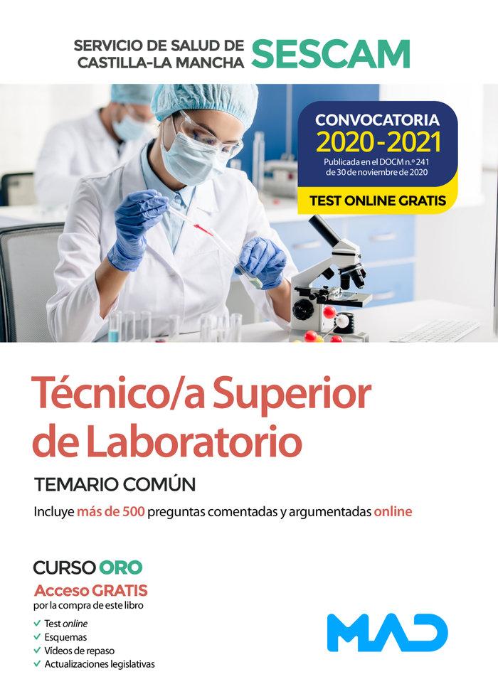 Temario comun tecnico/a superior laboratorio sescam