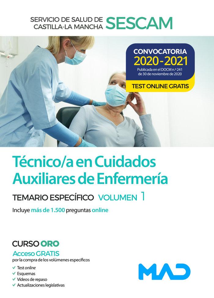 Temario especifico i tecnico/a cuidado auxiliar enfermeria