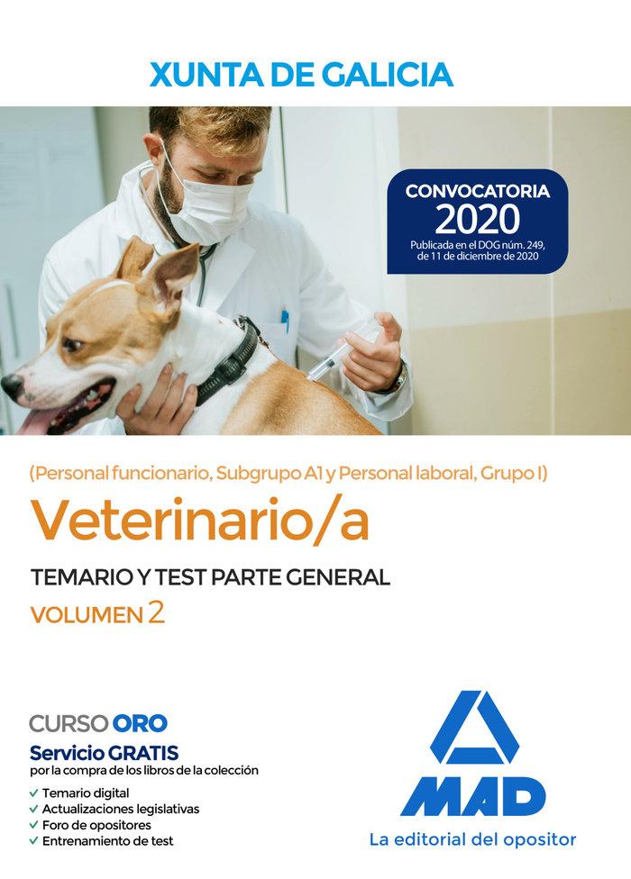 Veterinario/a de la xunta de galicia pers