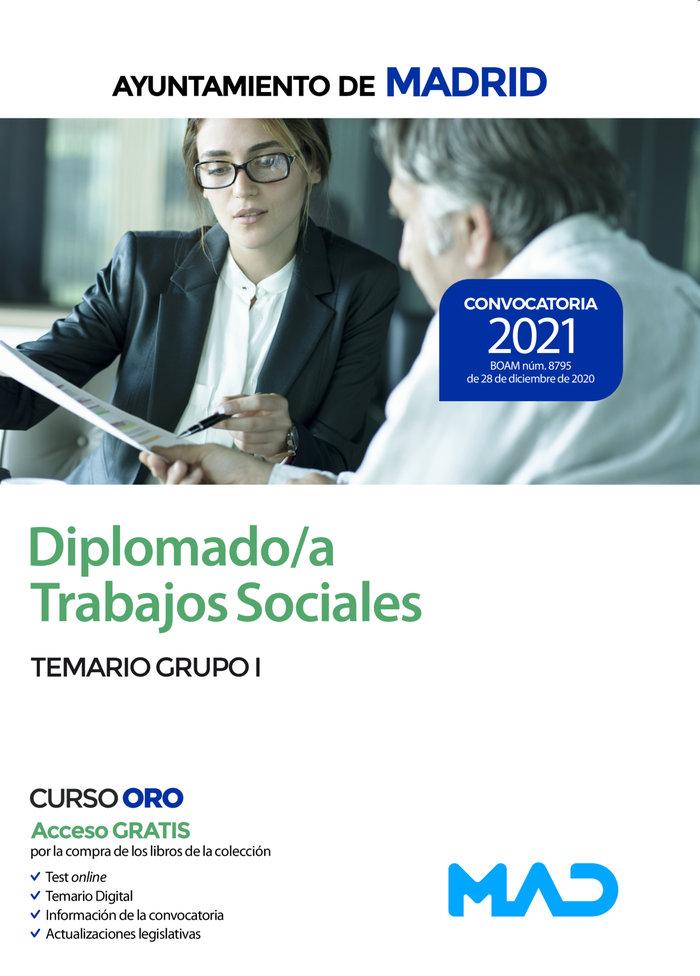Diplomado trabajos sociales ayuntamiento madrid temario 1