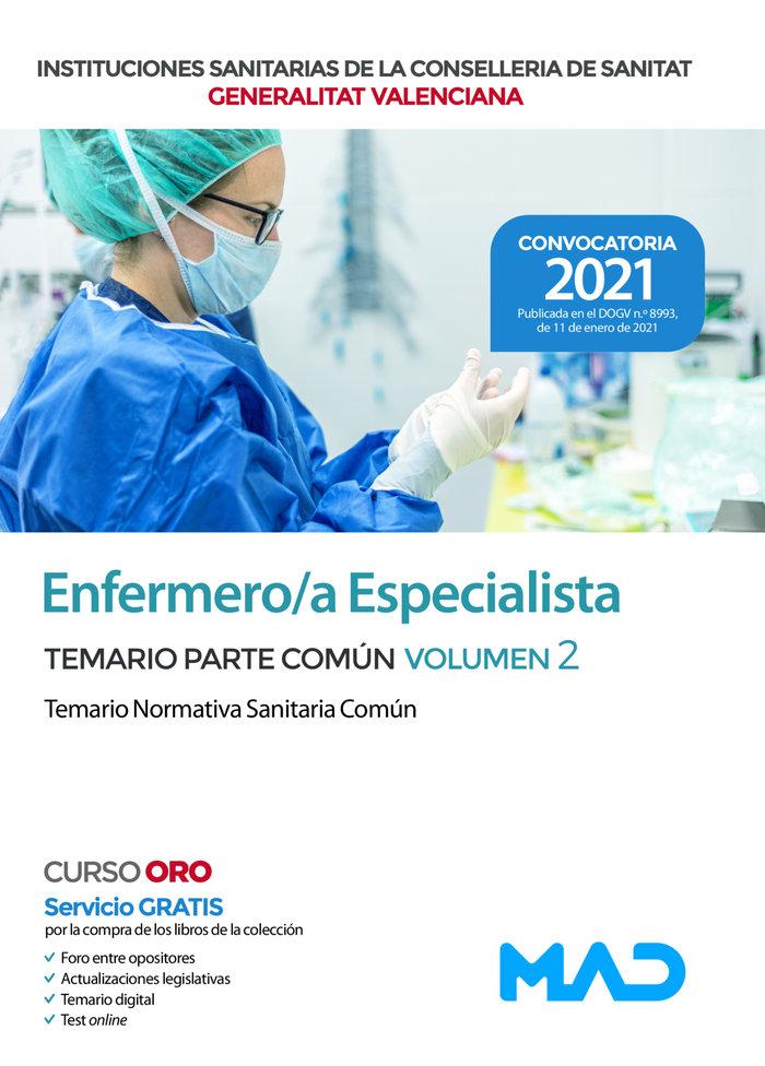 Enfermero/a especialista de las instituciones sanitarias de