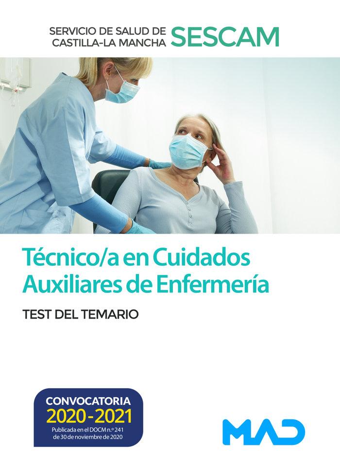 Tecnico/a en cuidados auxiliares enfermeria sescam test