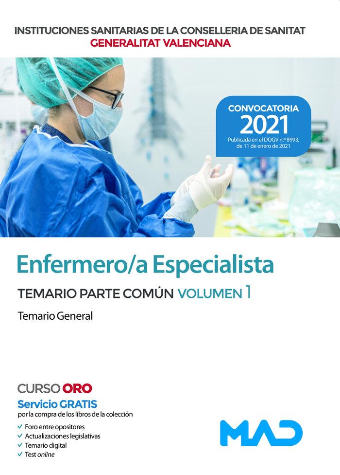 Enfermero/a s valencia temario comun 1 temario general