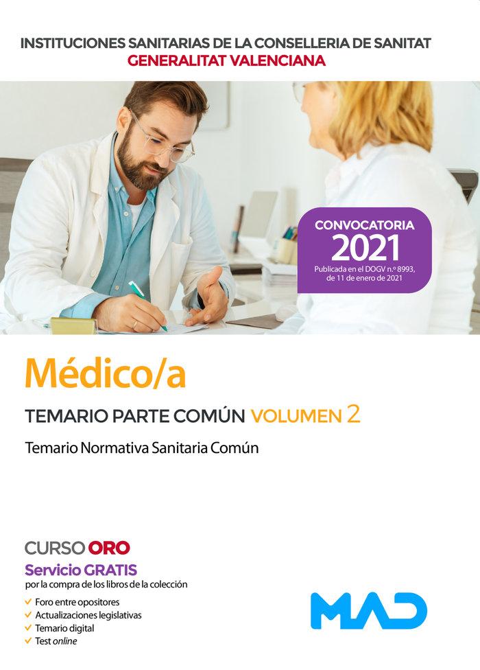Medico/a de las instituciones sanitarias de la conselleria d