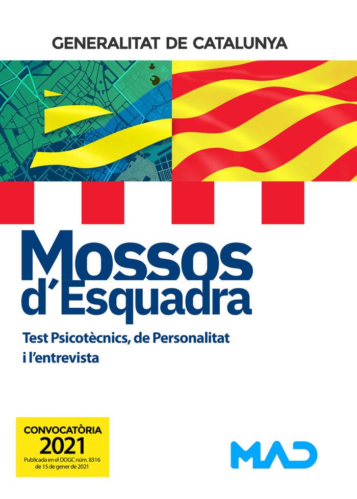 Test psicotecnics mossos dïesquadra