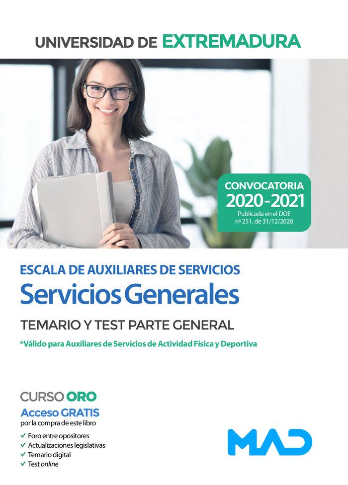 Escala de auxiliares de servicios (servicios generales) de l