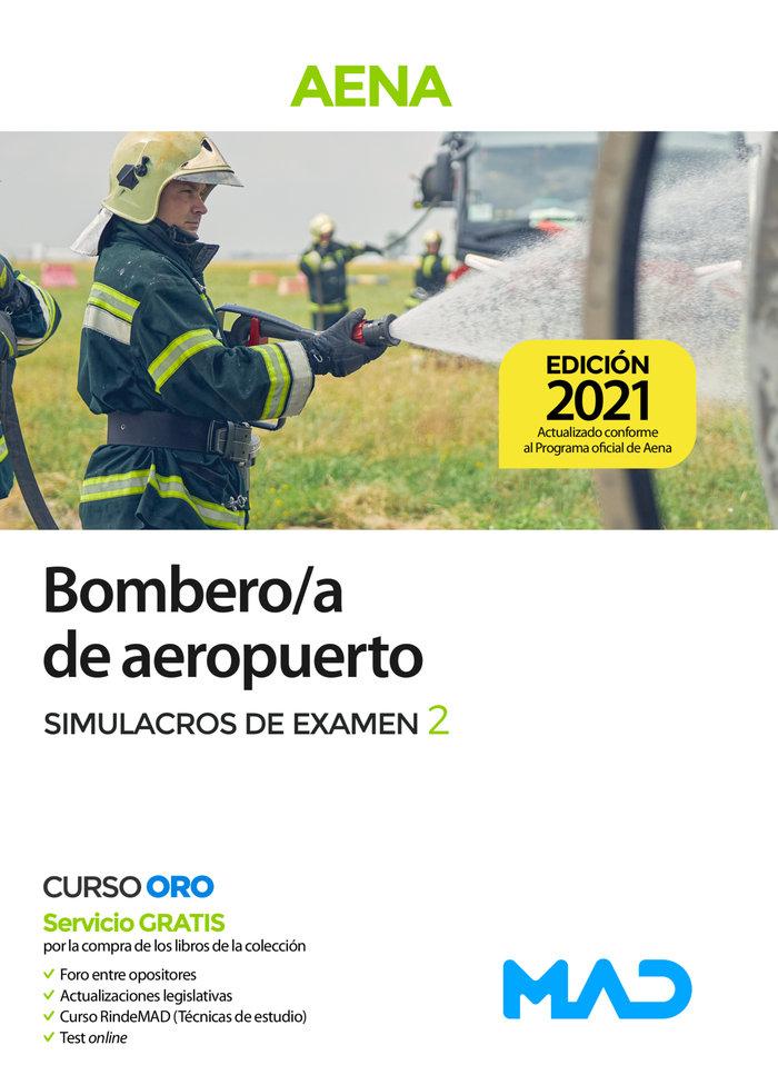 Bombero/a de aeropuerto aena simulacros de examen 2