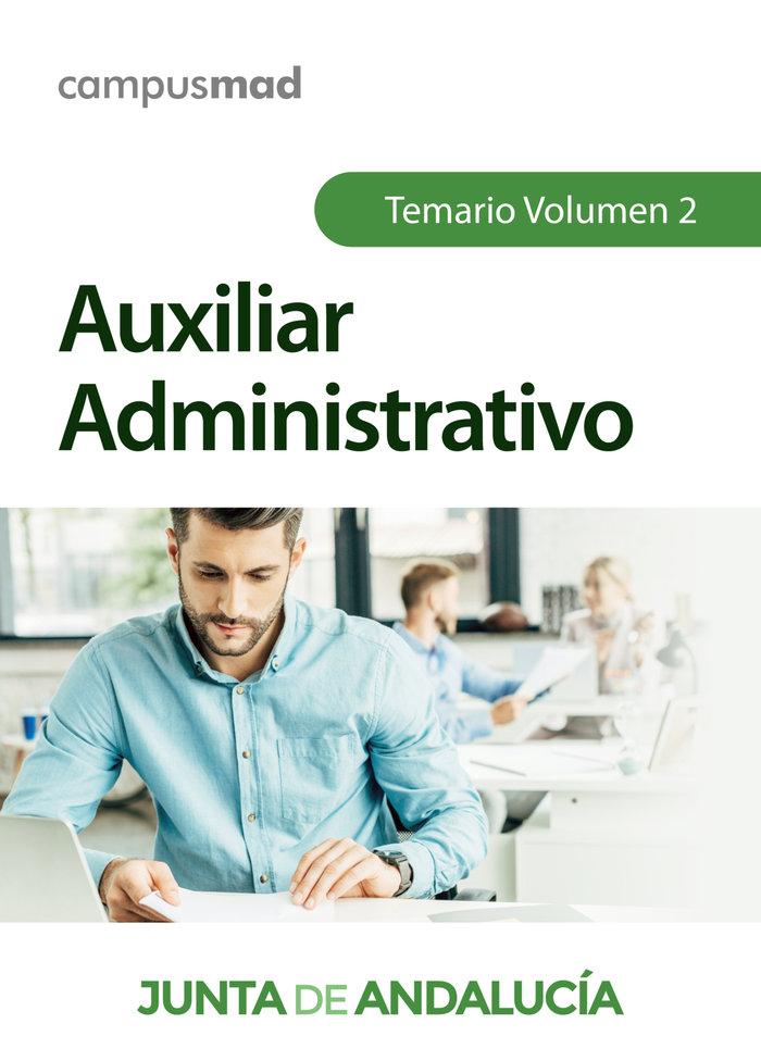 Auxiliar administrativo de la junta de andalucia. temario vo