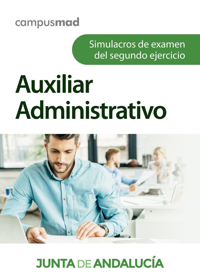 Auxiliar administrativo de la junta de andalucia. simulacros
