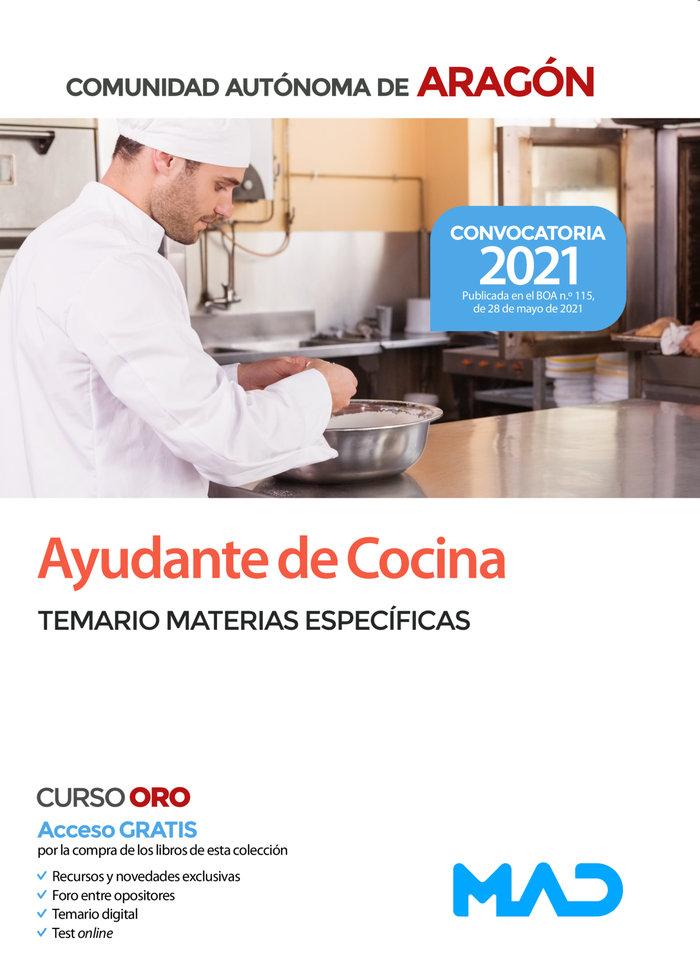 Ayudantes de cocina de la comunidad autonoma de aragon. tema