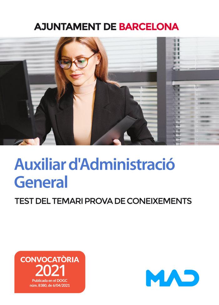 Auxiliar dadministracio general d