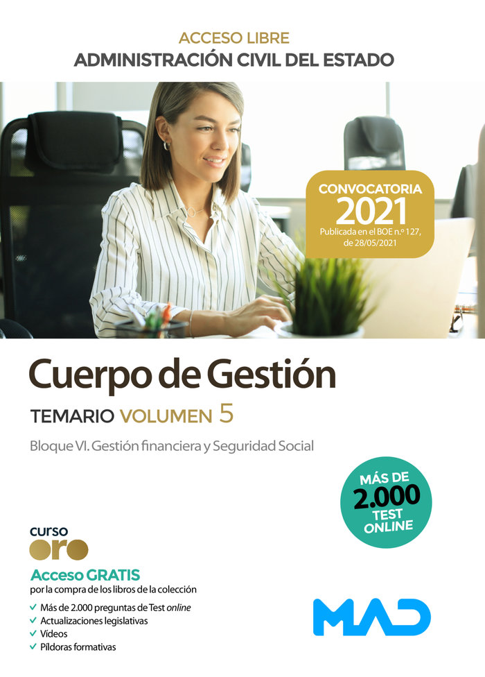 Cuerpo gestion administracion acesso vol5