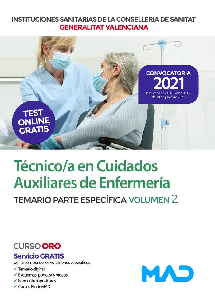 Temario vol 2 parte especifica tecnico/a cuidados auxiliare