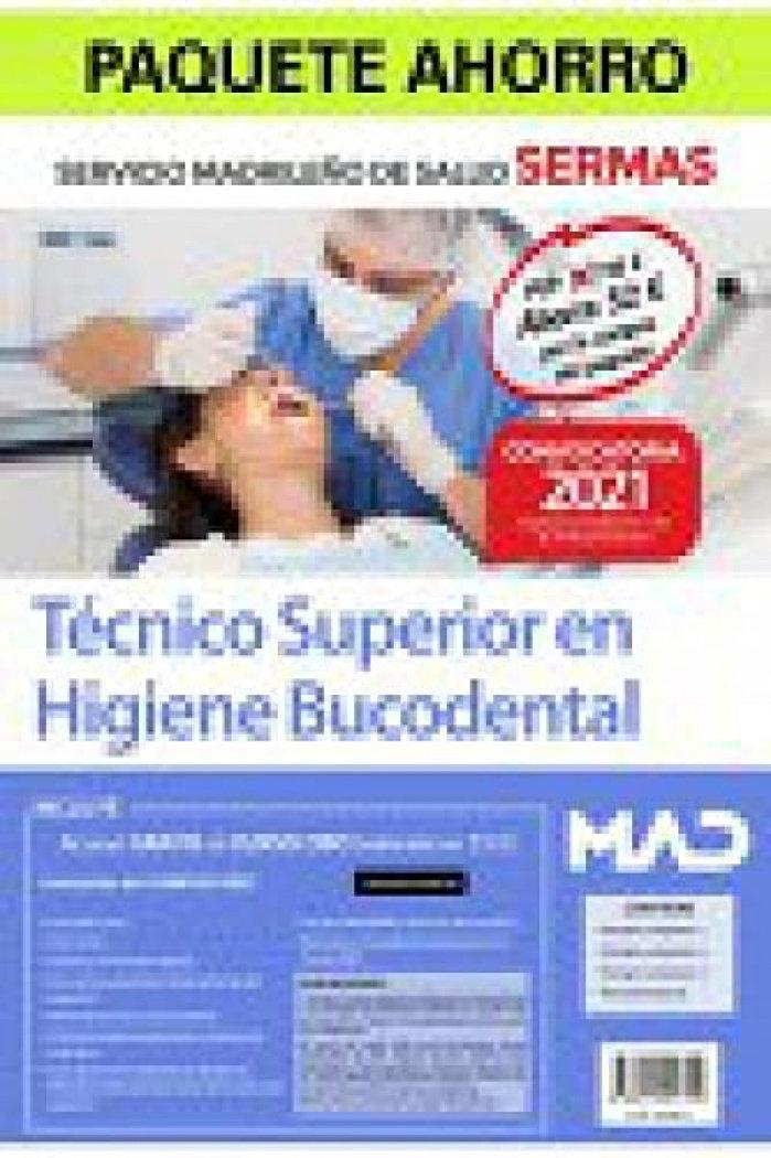 Paquete ahorro tecnico superior en higiene bucodental sermas