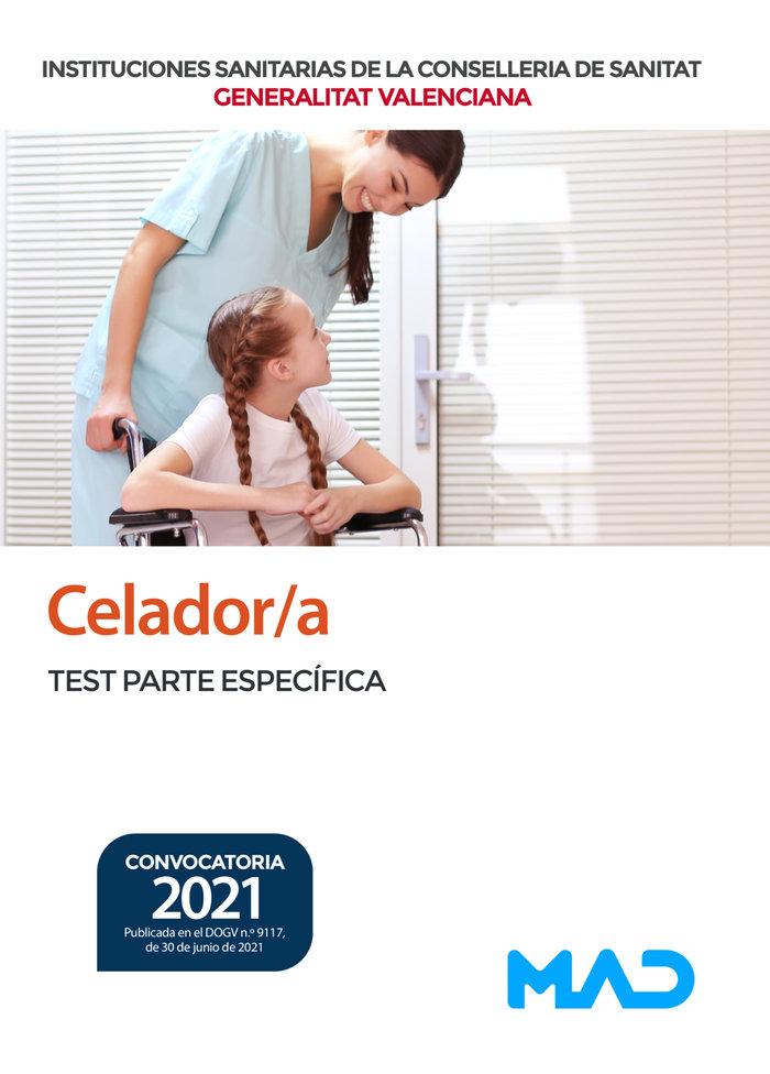Celador/a de instituciones sanitarias de la conselleria de s