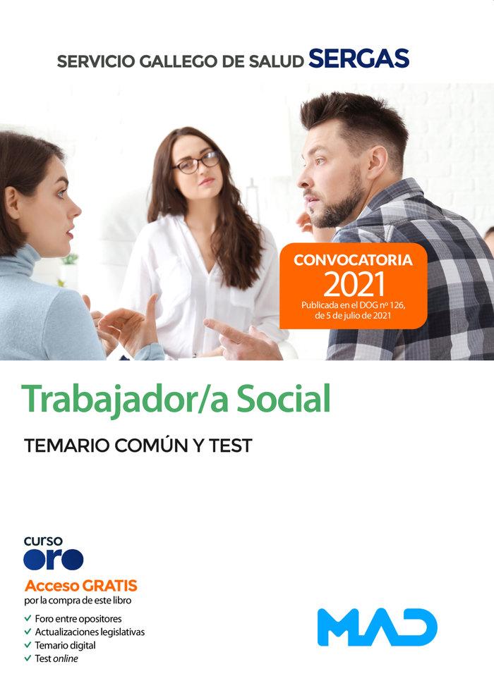 Trabajador/a social del servicio gallego de salud. temario c