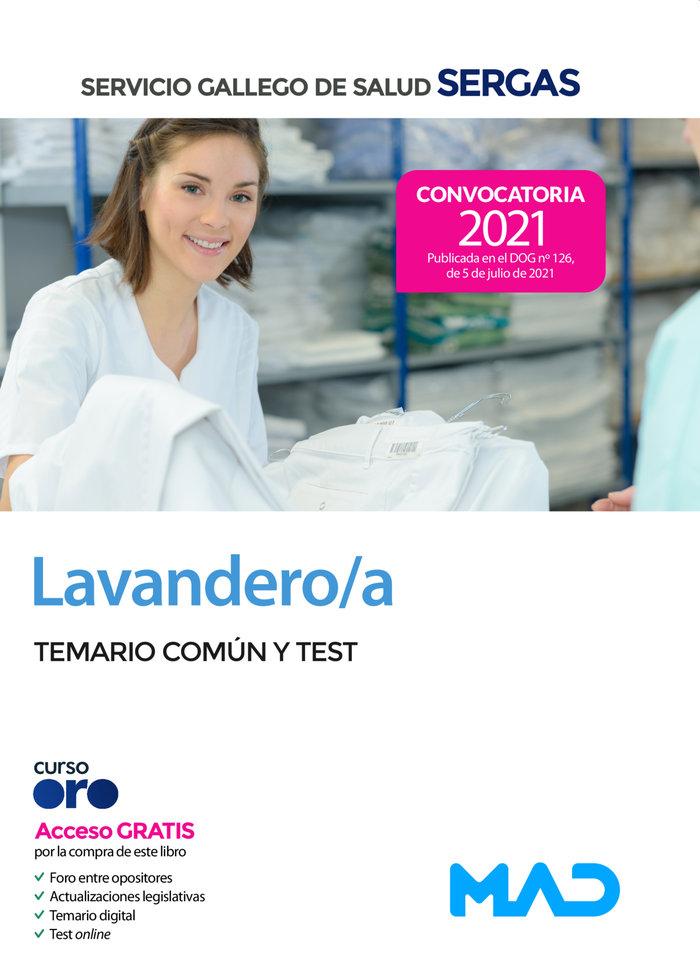 Lavandero/a del servicio gallego de salud