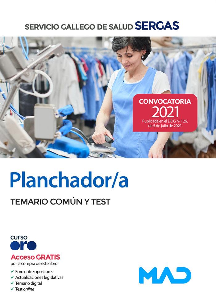 Planchador/a del servicio gallego de salud. temario comun y