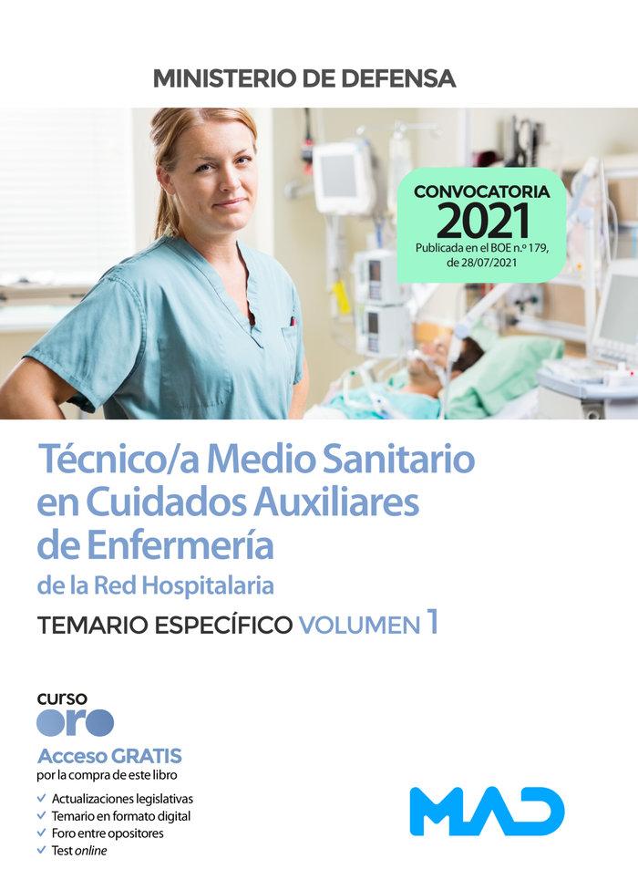Tecnico/a medio sanitario cuidados auxiliares de enfermer