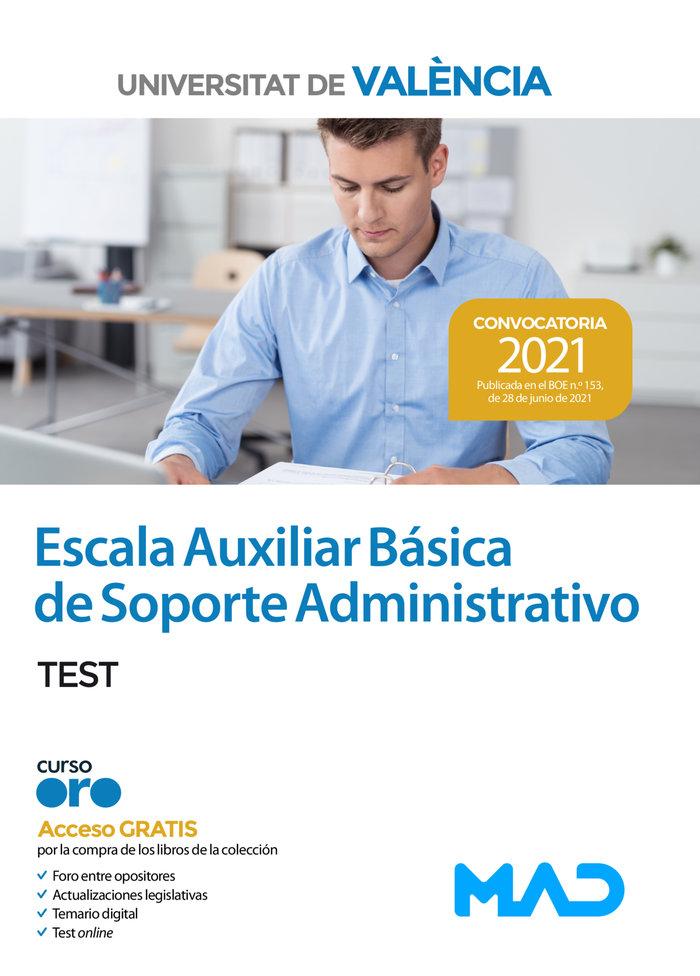 Escala auxiliar basica de soporte administrativo de la unive