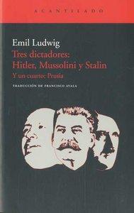 Tres dictadores hitler mussolini y stalin