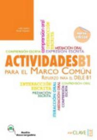 Actividades para el marco comun dele b1