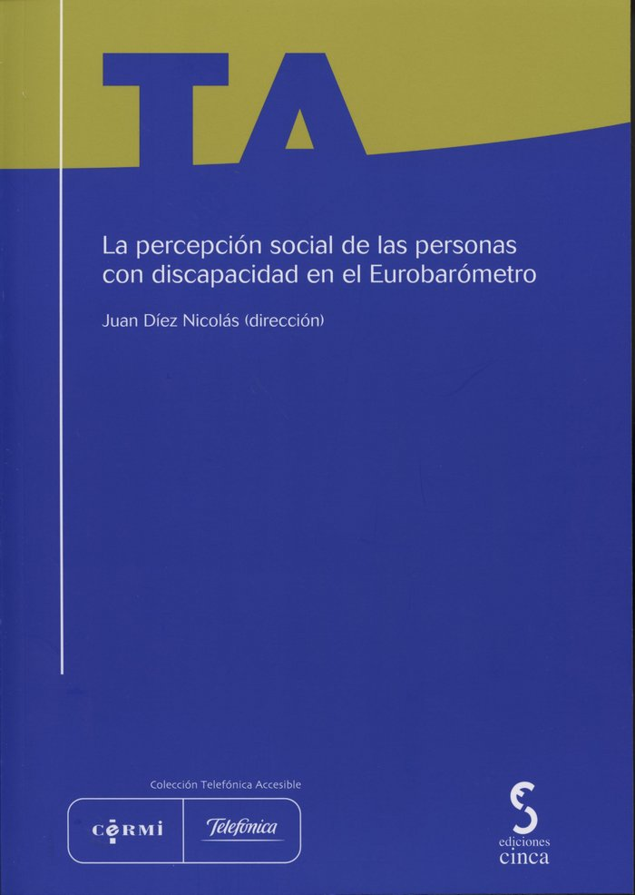 Percepcion social de las personas con discapacidad en el eur