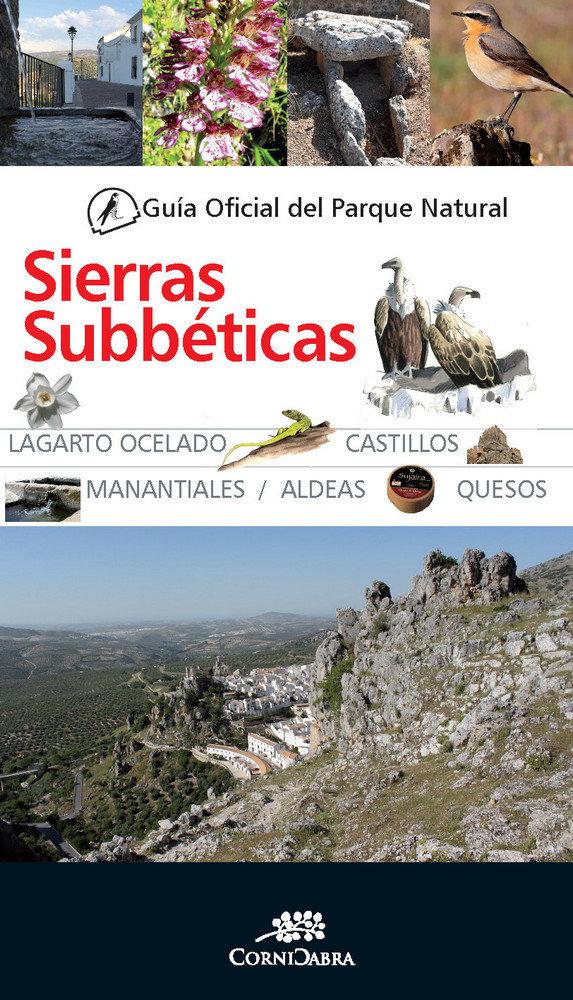 Guia oficial parque natural sierras subbeticas