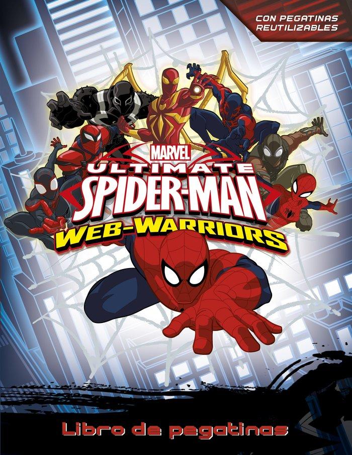 Spiderman libro de pegatinas