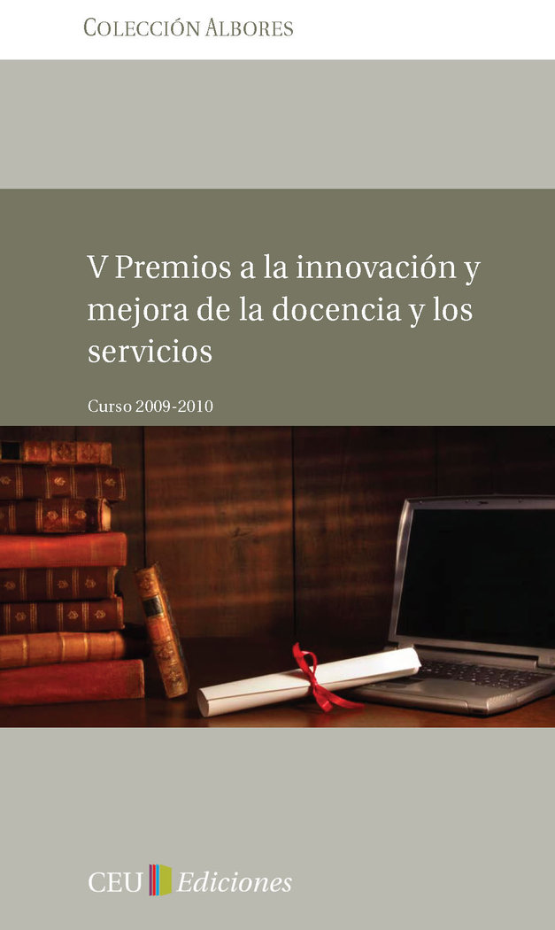 V premios a la innovacion y mejora de la docencia y los serv