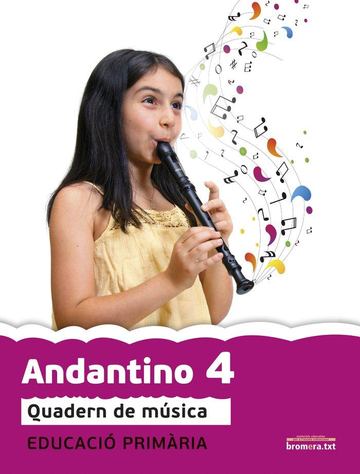 Andantino musica 4ºep 1cicle quadern