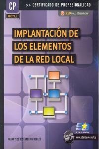 Implantacion de los elementos de la red local