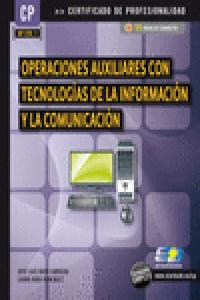 Operaciones auxiliares con tecnologias informacion comunica
